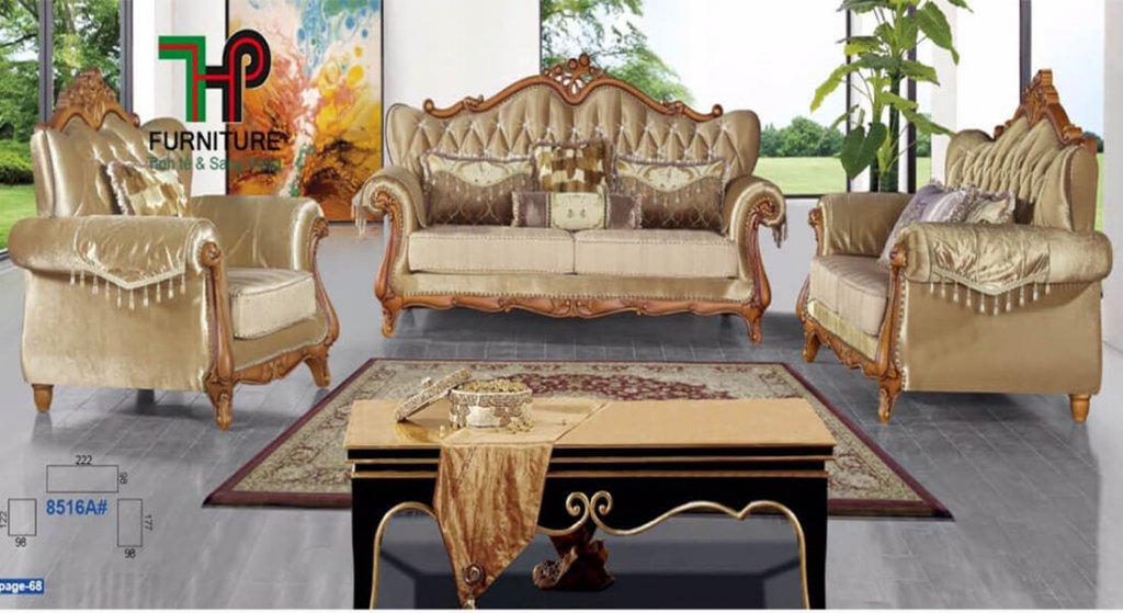 Sofa cổ điển nhập khẩu cao cấp