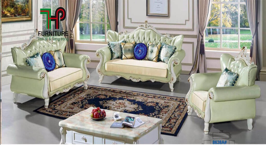 sofa cổ điển nhập khẩu