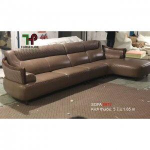 sofa da nhập khẩu cao cấp