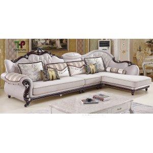 Ghế sofa góc tân cổ điển