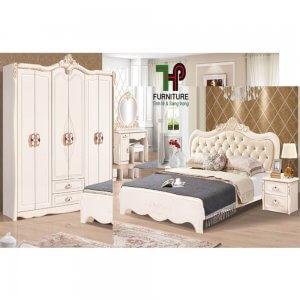 giường ngủ tân cổ điển cao cấp (1)