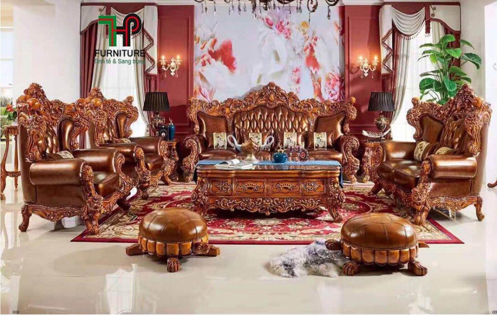 bàn ghế gỗ cao cấp cổ điển