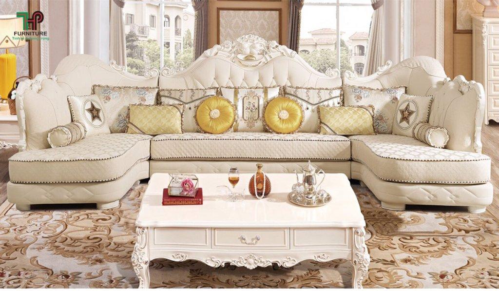 Sofa kiểu tân cổ điển đẹp