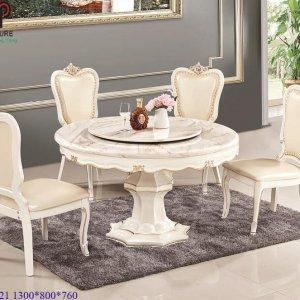 bàn ghế ăn tân cổ điển 724