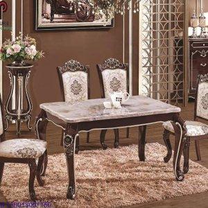 bàn ghế ăn tân cổ điển 7561
