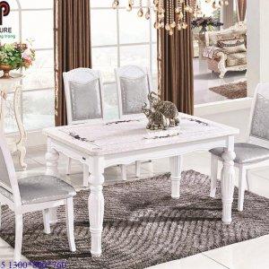 bàn ghế ăn tân cổ điển 765
