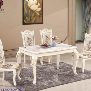 bàn ghế ăn tân cổ điển 774