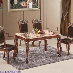 bàn ghế ăn tân cổ điển 776 b