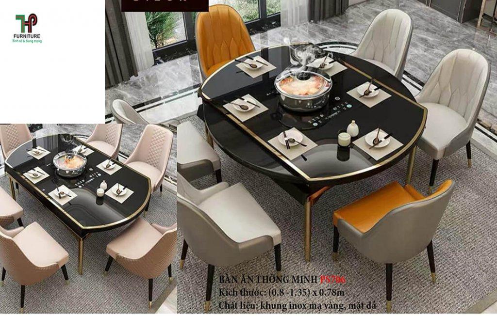 mẫu bàn ghế ăn đẹp tphcm
