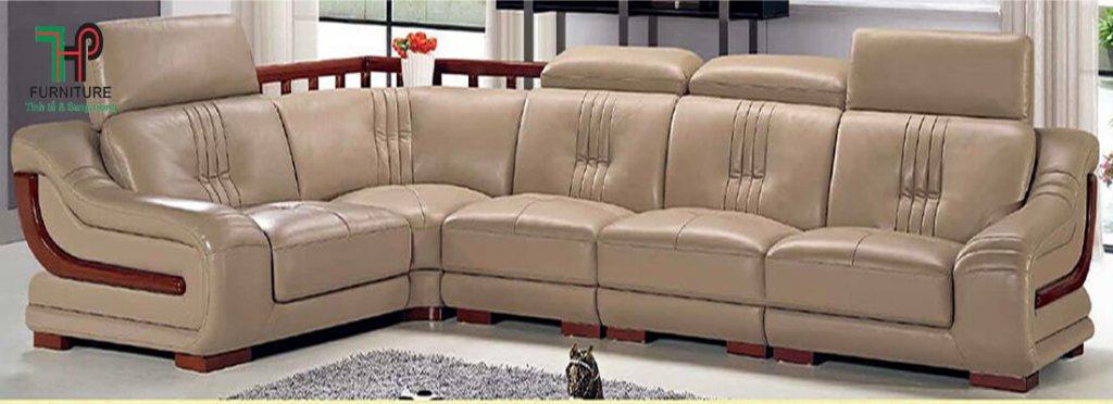 bộ sofa da cao cấp