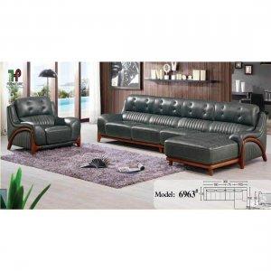sofa da thật 100