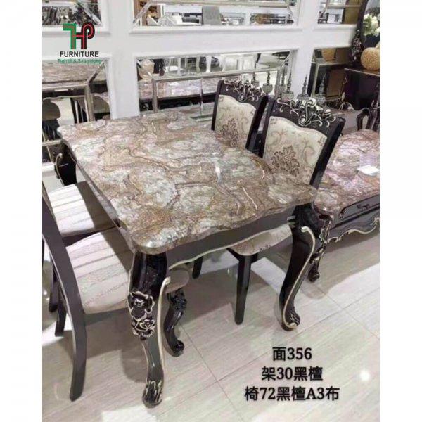 Bàn ghế ăn tân cổ điển (1)