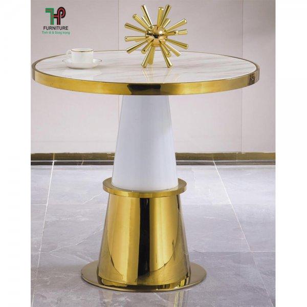 bàn trà inox mạ vàng (4)
