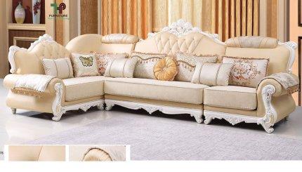 sofa cao cấp kiểu cổ điển