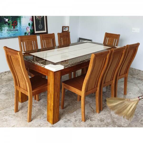 bàn ăn mặt đá marble (1)