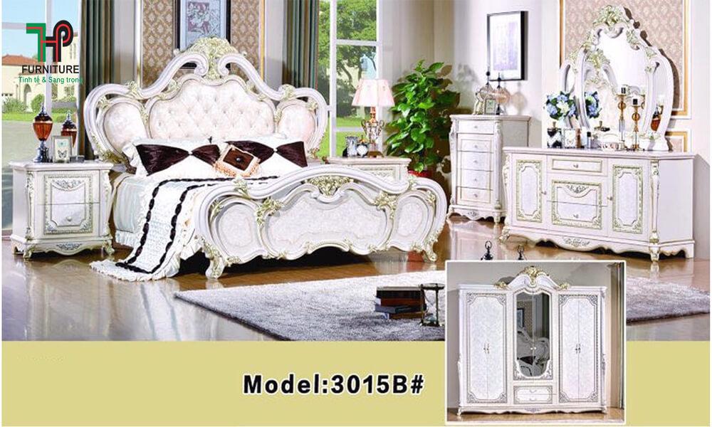 bộ giường ngủ cổ điển