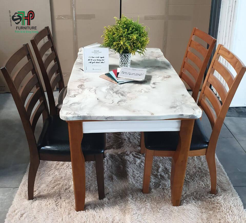 bàn ăn mặt đá nhập khẩu (1)