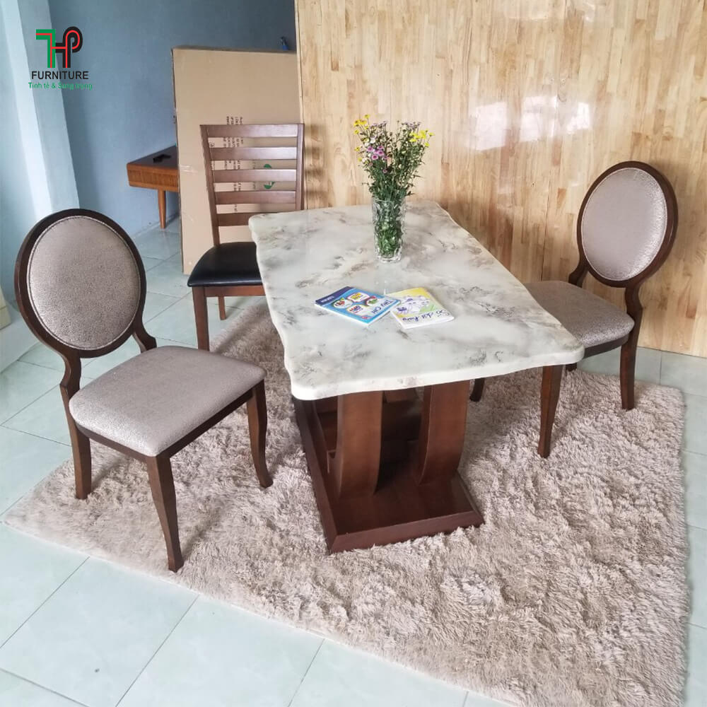 bàn ghế ăn gỗ (2)