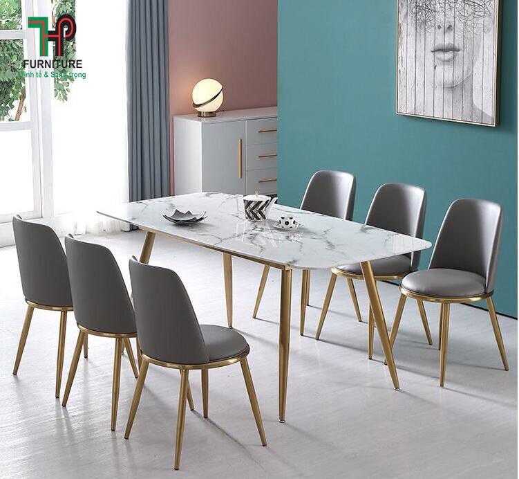 bàn ăn đẹp hiện đại