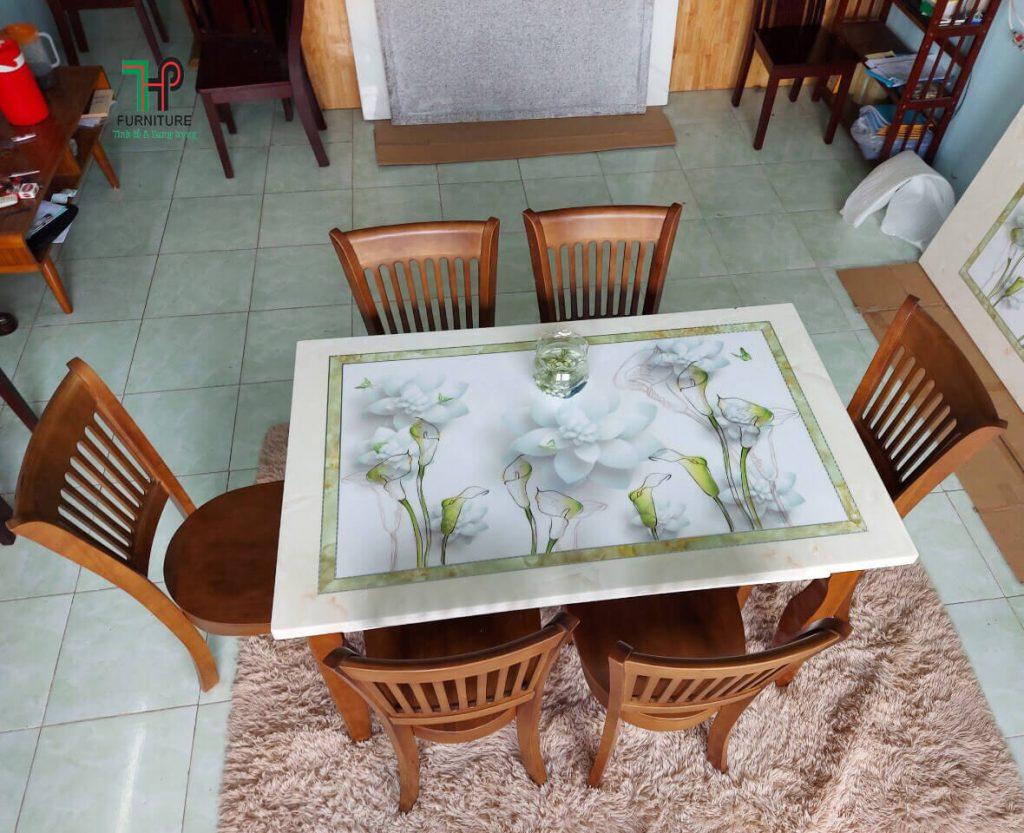 bộ bàn ăn đẹp đơn giản