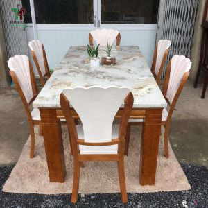 bàn ăn mặt đá đẹp (1)