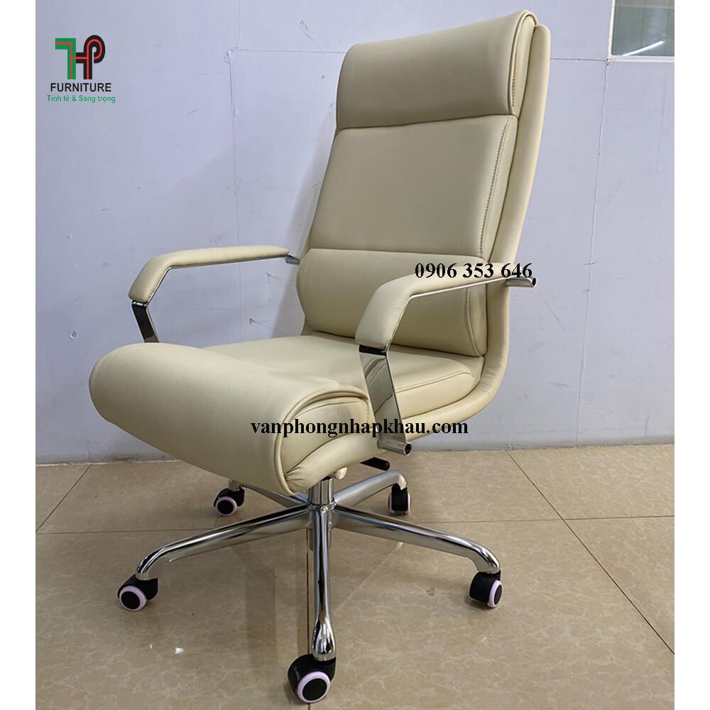 ghế văn phòng màu trắng