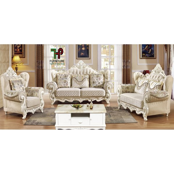 ghế sofa đơn nhập khẩu kiểu cổ điển