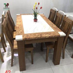 Bàn ghế ăn gỗ