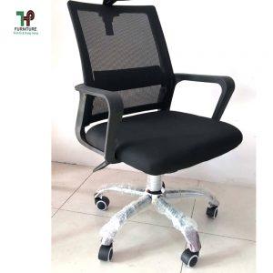 Ghế lưới văn phòng chân xoay giá rẻ